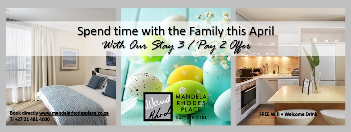 April Special - Stay 3, Pay 2