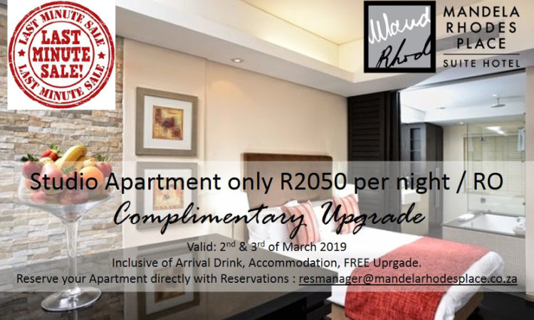 Mandela Rhodes Place March Special