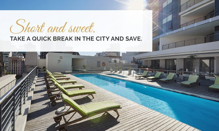 Short and Sweet – 2 Nights Bed and Breakfast Package.