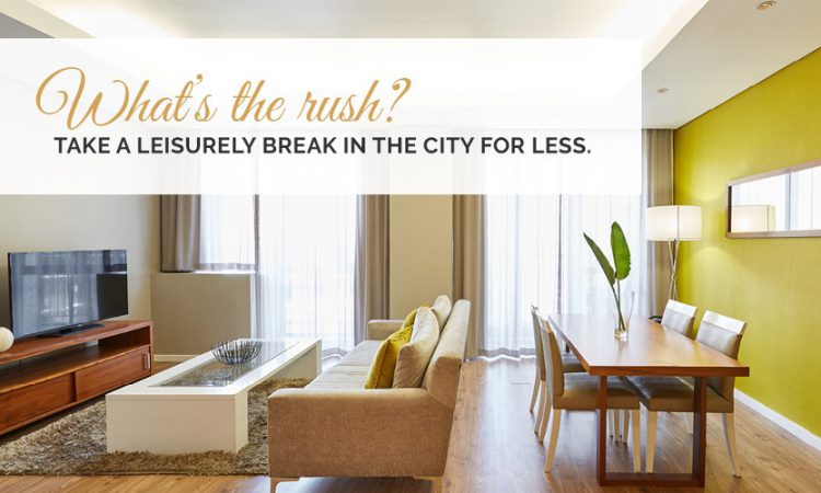What's the Rush! – 7 Nights Bed and Breakfast Package